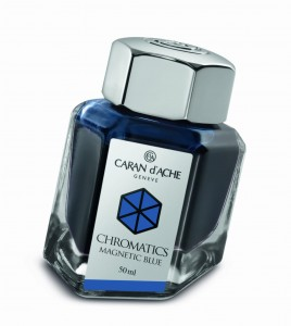 Atrament CARAN d'ACHE Magnetic Blue 50ml