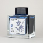 Atrament SAILOR MANYO Kikyou 50ml - ciemnoniebieski
