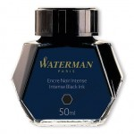 Atrament WATERMAN czarny 50ml