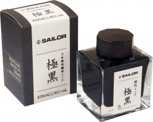 Atrament SAILOR Pigmentowy  Black  KIWA-GURO 50ml
