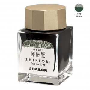 Atrament SAILOR Shikiori MIRUAI ciemnozielony 20ml