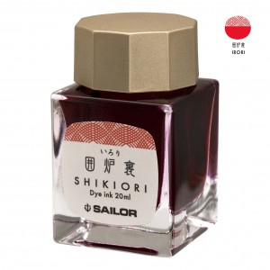 Atrament SAILOR Shikiori IRORI czerwony 20ml