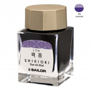 Atrament SAILOR Shikiori SHIGURE fioletowy 20ml