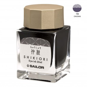 Atrament SAILOR Shikiori CHUSHU szarofioletowy 20ml