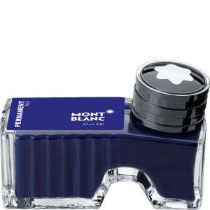 Atrament MONTBLANC Permanent Blue 60ml.