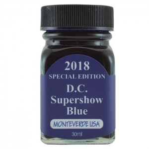 Atrament MONTEVERDE  D.C. Super Show Blue - Specjal Edytion 30ml