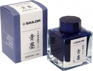 Atrament SAILOR Pigmentowy  SEIBOKU Blue-black 50ml