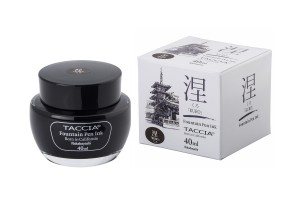 Atrament TACCIA SUNAOIRO Kuro - black 40ml