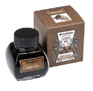 Atrament PLATINUM CLASSIC Khaki Black 60ml