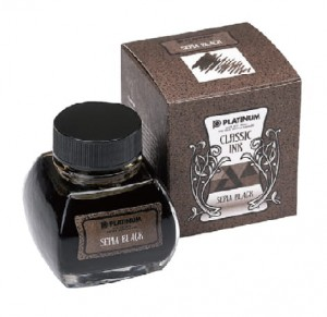 Atrament PLATINUM CLASSIC Sepia Black 60ml