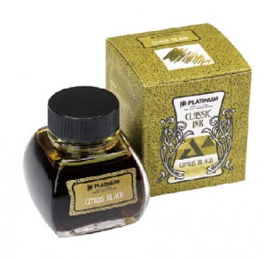 Atrament PLATINUM CLASSIC Citrus Black 60ml