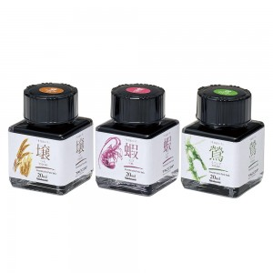 Atrament TACCIA SUNAOIRO kpl. 3 x 20ml (golden, purple, olive)