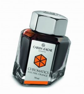 Atrament CARAN d'ACHE Electric Orange 50ml