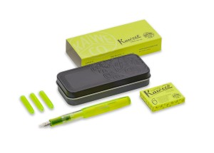 Pióro KAWECO Highliter Set Neon Yellow