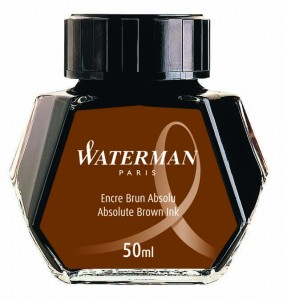 Atrament WATERMAN brąz 50ml