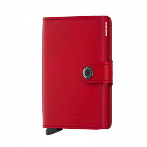 Portfel SECRID Miniwallet Original Red-Red