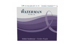 Naboje WATERMAN INTERNATIONAL purpurowy (6 szt.)