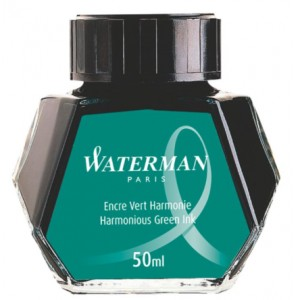 Atrament WATERMAN zielony 50ml
