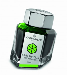 Atrament CARAN d'ACHE Delicate Green 50ml