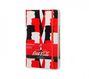 Notes MOLESKINE Coca Cola L 13x21c