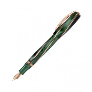Pióro wieczne VISCONTI DIVINA ELEGANCE Green Over Size