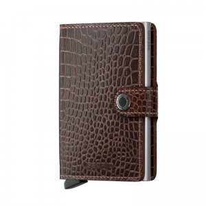 Portfel SECRID Miniwallet Amazon Brown