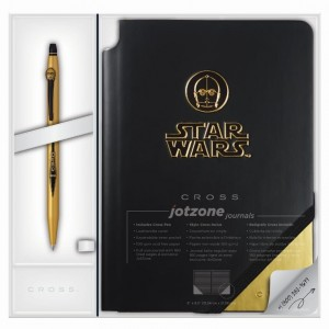 Notes Jotzone+Długopis CROSS STAR WARS  C3PO