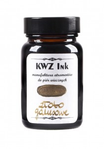 Atrament KWZ Ink złoto galusowe 60ml