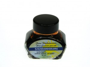 Atrament STANDARDGRAPH crokus yellow 30ml