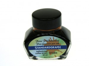 Atrament STANDARDGRAPH coffee brown 30ml