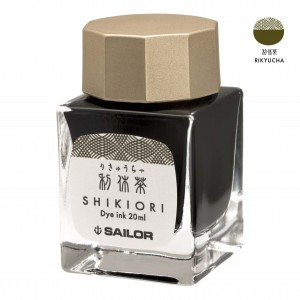 Atrament SAILOR Shikiori RIKYU CHA oliwkowy 20ml