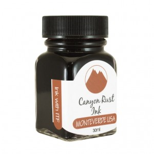 Atrament MONTEVERDE Canyon Rust 30ml