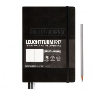 Notes LEUCHTTURM 1917 A5 Medium Bullet Journal czarny