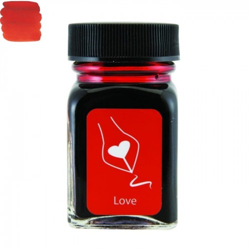 Atrament MONTEVERDE Emotions Love Red