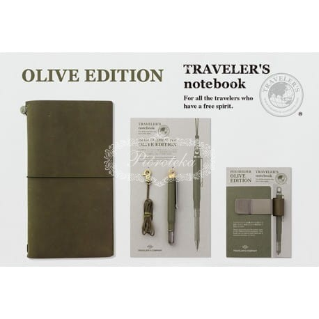 Notes TRAVELERS Olive